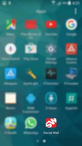 Social Wall Screenshop Mobile Home