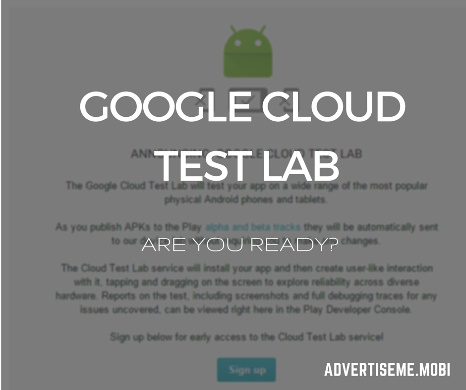 GOOGLE CLOUD TEST LAB