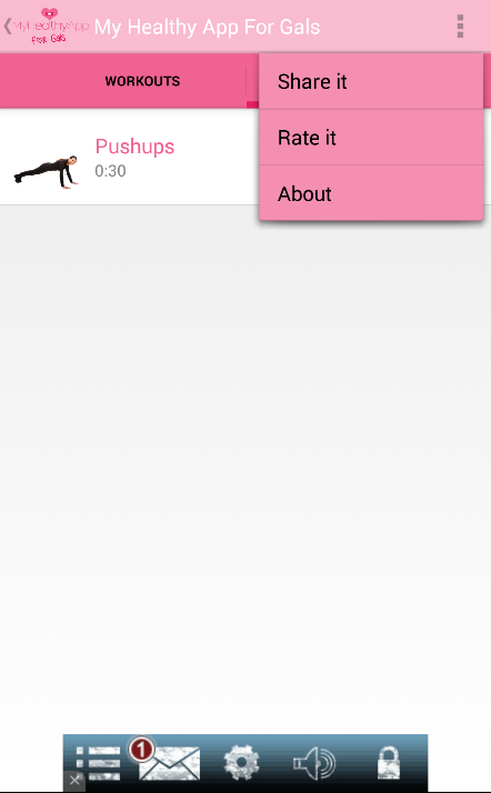 My Healthy App For Gals Screenshot 8