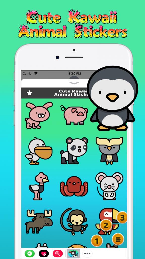 Advertise Me Mobi - Cute Kawaii Stickers 2