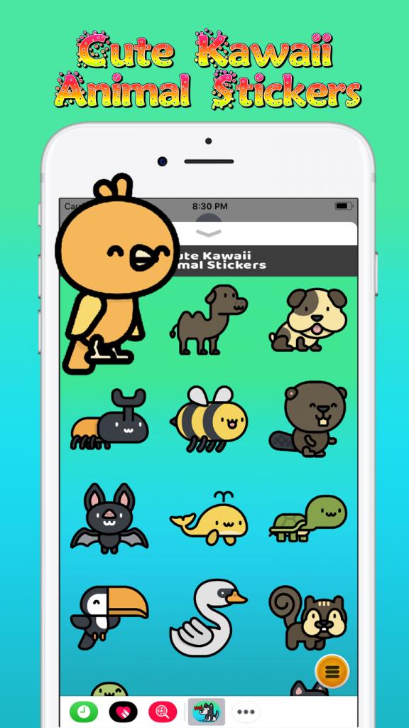 Advertise Me Mobi - Cute Kawaii Stickers 3